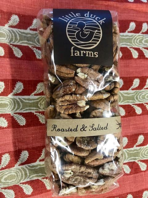 Roasted and Salted Pecan Halves 1 lb.