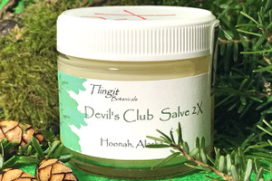 Devil's Club Salve 2X - 2oz