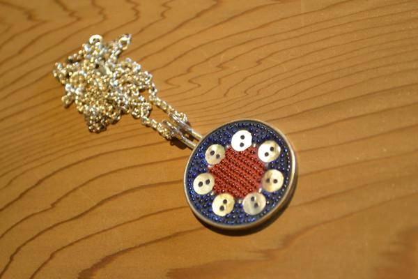Seven Button Pendant