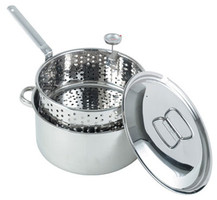 10 Qt Stainless Steel Deep Fryer Pot - 1101