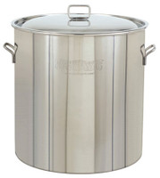 82 qt. Stainless Steel Stock Pot with Lid - 1082