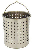 36 qt. Stainless Steel Stock Pot Basket - B136