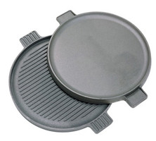"14"" Cast Iron Reversible Round Griddle - 7414"