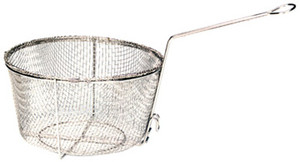 Nickle-Plated Fry Basket - 0125