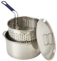 14 qt. Stainless Steel Deep Fryer - 1150