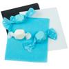 Light Blue Caramel Wrappers