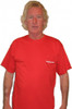 Red Pocket Tee Front