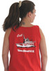 TBUS Ladies Red Tank - Relaxed Fit