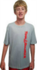 TBUS Mens  Short Sleeve Moisture Wicking Tees, Red and Silver NOW Available