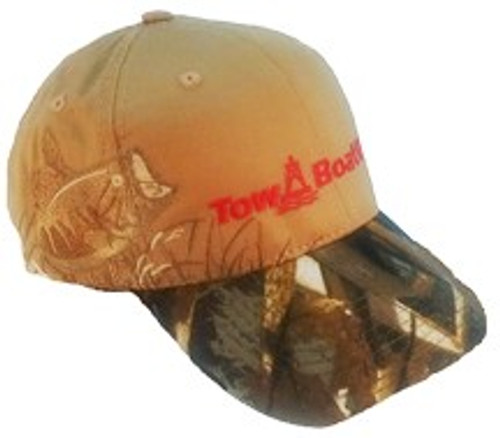 TBUS Port Authority Embroidered Bass Camo Hat