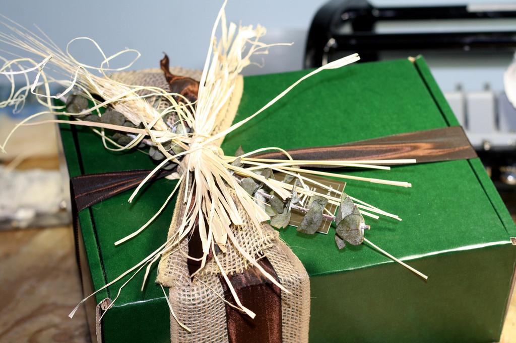 Money Green Gift Box