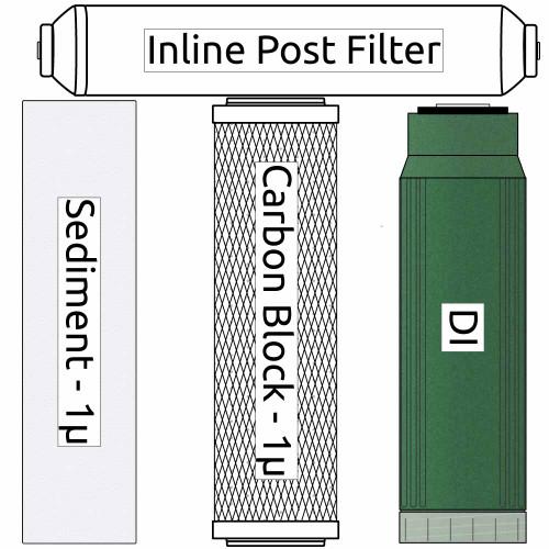 RO/DI Psarion Phi Reef Filter Kit (replaces RODIFK)