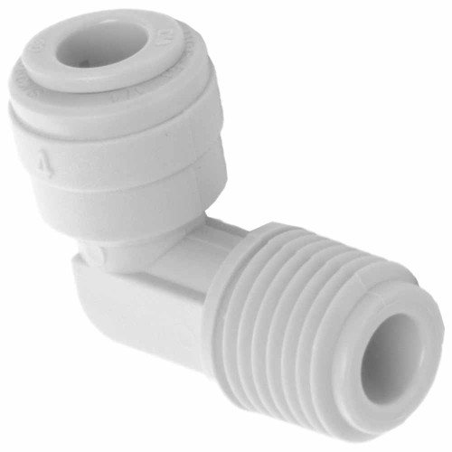 1/4-inch Quick Connect x 1/4-inch NPT Elbow Fitting for Filter Housings