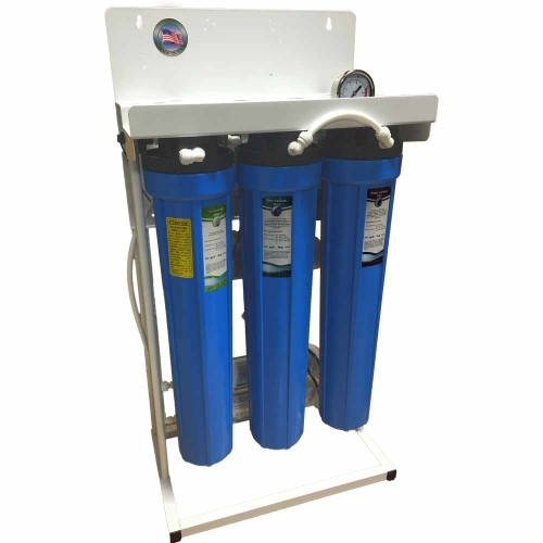 Light Commercial 400 GPD Reverse Osmosis (RO) System w/ 10 Gallon Pressure Tank
