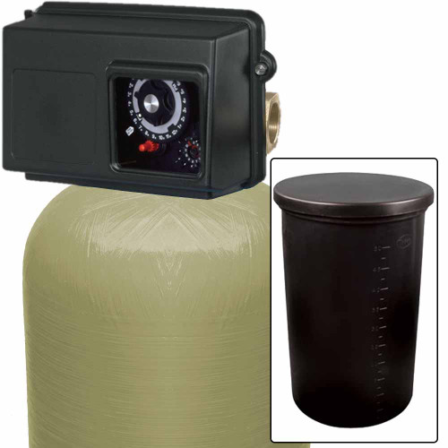 210k Commercial High Flow Water Softener with Fleck 2850 Timer