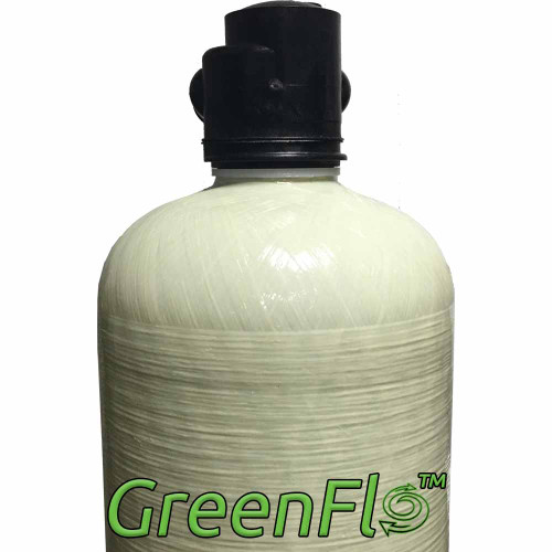 GreenFlo Bone Char Carbon 28 Upflow System - Reduces Fluoride, Radioactive Particles, and Toxic Metals