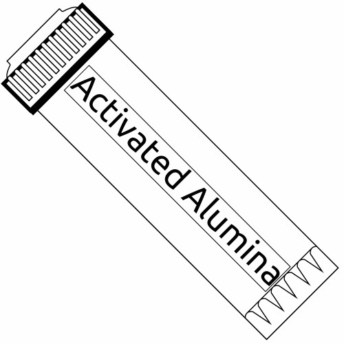 10-inch Activated Alumina Filter for Fluoride, Arsenic, and Lead