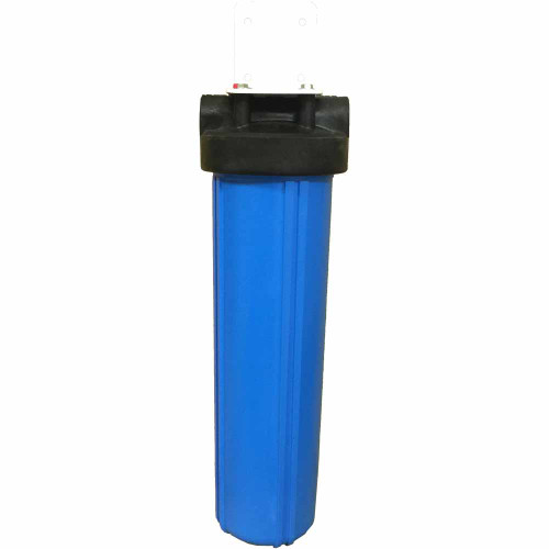 20-inch Single Canister Big Blue Bone Char Carbon Whole House Filter for Fluoride, Arsenic, Radioactive Particles, and More!