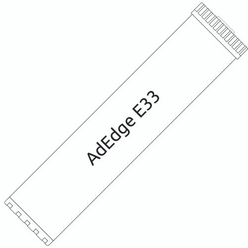 Big Blue 20-inch AdEdge Bayoxide E33 Filter for Arsenic