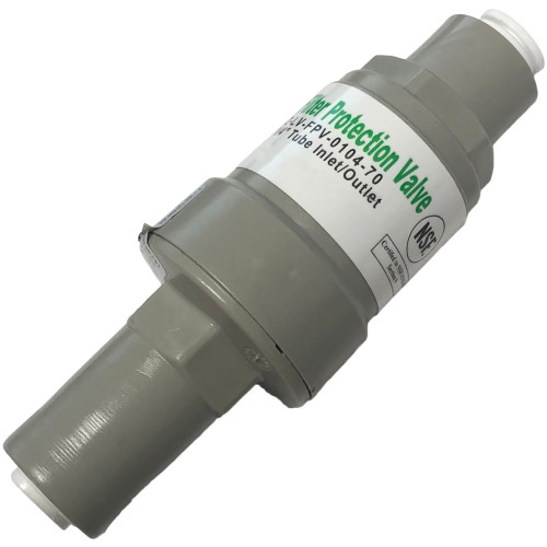 Pressure Regulator for Reverse Osmosis Systems - 70 psi - 1/4-inch Quick  Connect