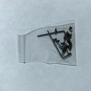 Screw Replacement Pack for Aluminum Scales. Brass and Stainless posts NOT included