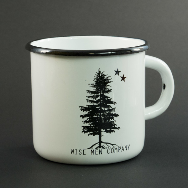 Wise Men Company Enamel Coffee Cup
