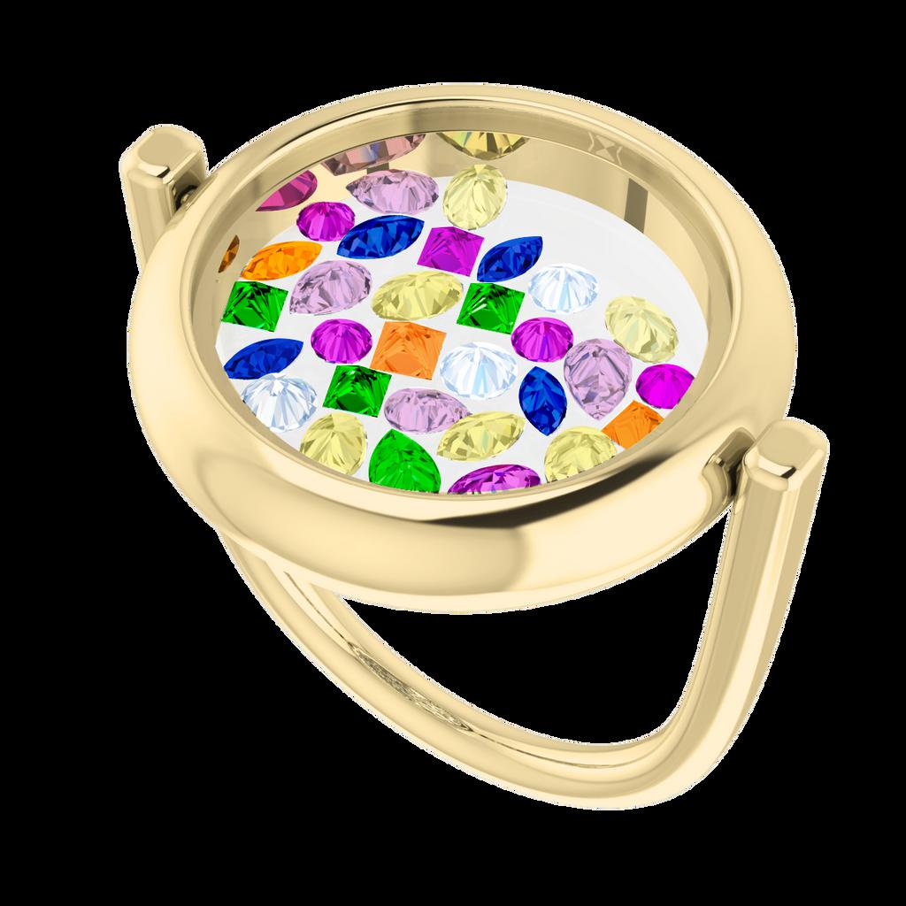 rainbow-gemstone-glass-ring-9-carat-yellow-gold