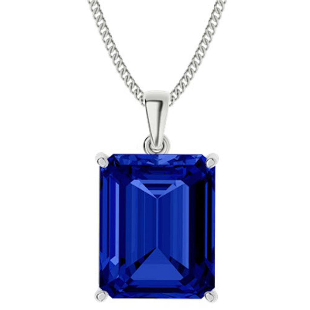 stylerocks-emerald-cut-10mm-blue-sapphire-sterling-silver-necklace