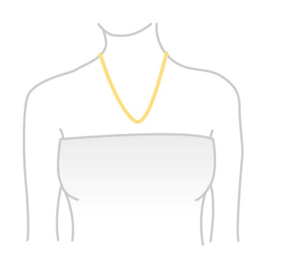 Rose Gold-Plate Sunglasses Pendant