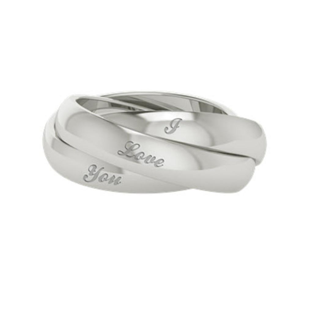 Russian Wedding Ring - Juno - Silver