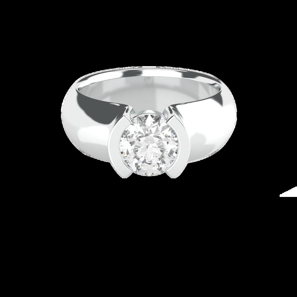 brilliant-cut-1ct-diamond-semi-bezel-set-14carat-white-gold-engagement-ring-stylerocks