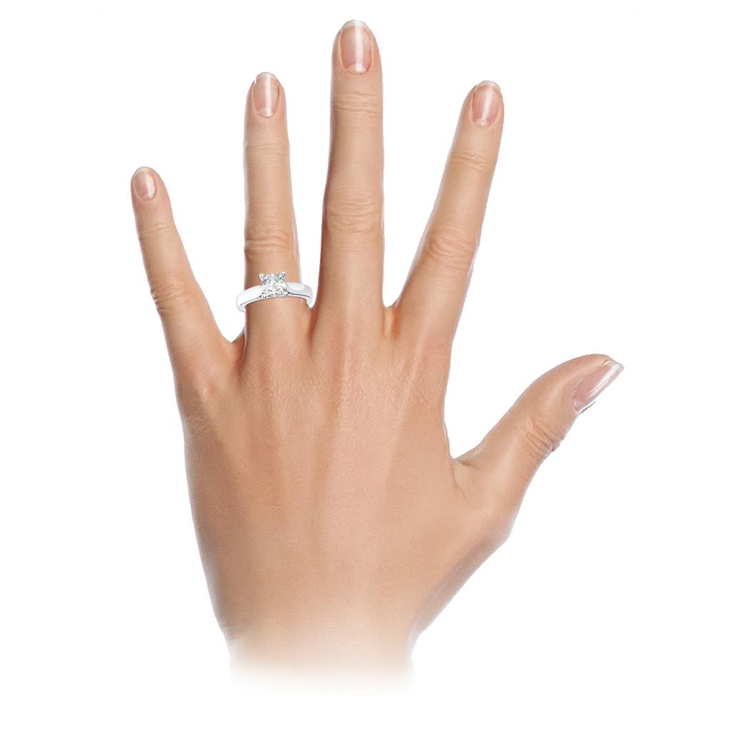 cushion-cut-1carat-diamond-four-claw-18carat-white-gold-engagement-ring-stylerocks-sevilla-on-hand