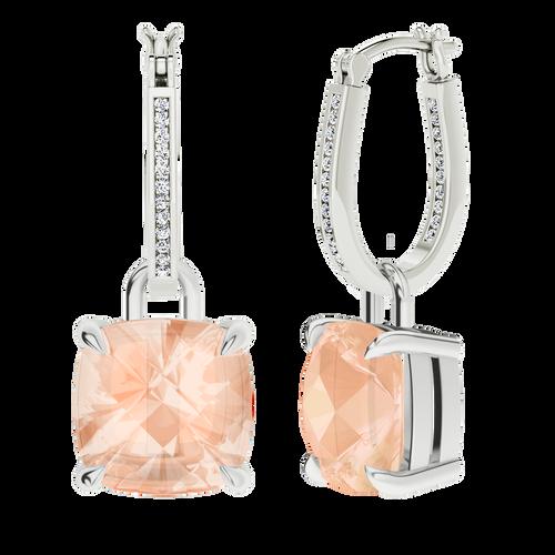 white-gold-diamond-hoops-morganite-drops