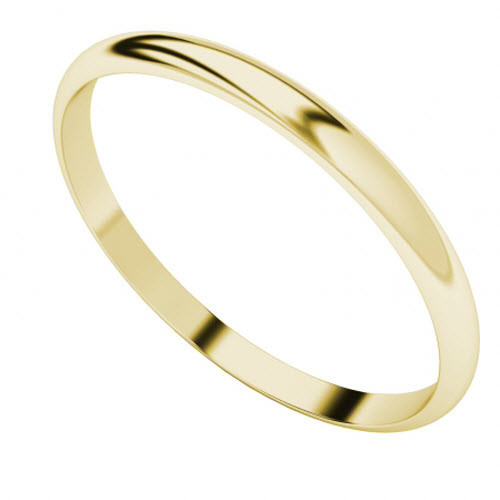 Yellow Gold-Plate Bangle
