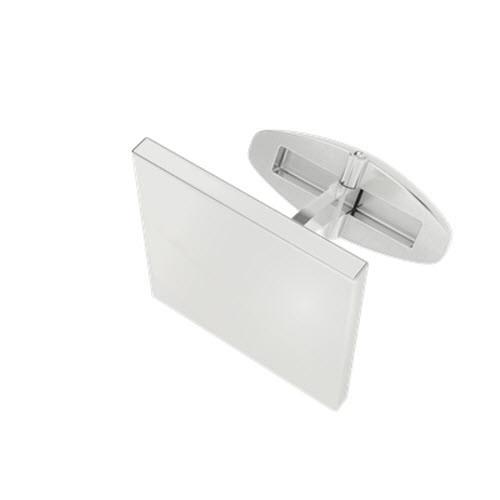 Square Silver Cufflinks