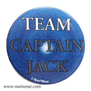 Captain Jack Inspired Button: Team Captain Jack