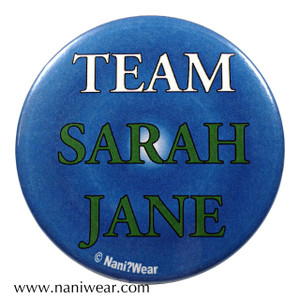 Companion Button: Team Sarah Jane