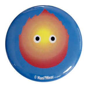 Howl's Moving Castle Inspired Calcifer Button