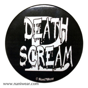 Sailor Moon Inspired Button: Death Scream