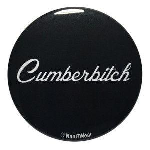 Sherlock Inspired Button: Cumberbitch