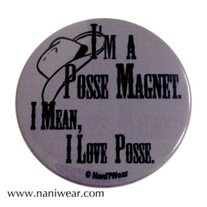 Supernatural Inspired Button: Posse Magnet