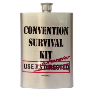 Convention Flask: Convention Survival Kit, Use Whenever