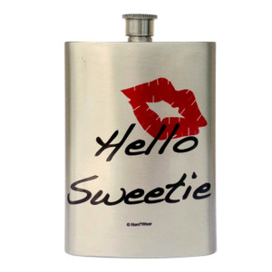 Doctor Who Inspired Flask: Hello Sweetie