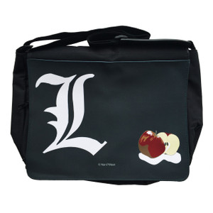 Death Note Inspired Large Messenger/Laptop Bag