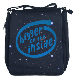 Doctor Who Inspired Medium Mesenger Bag: Bigger on the Inside