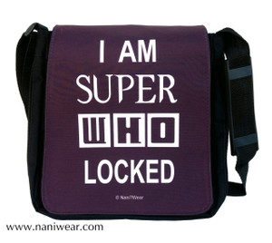 SuperWhoLock Medium Messenger Bag