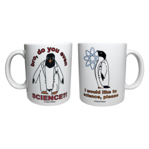 Double-Sided Science Penguin Mug