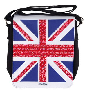 British Fandom Small Messenger Bag