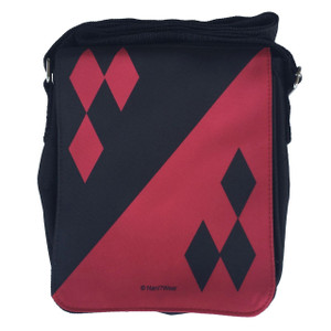 Harley Quinn Inspired Small Messenger Bag