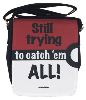 Pocket Monster Small Messenger Bag: Still Trying To Catch 'em All